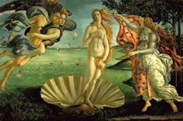 Botticelli Vénusz születése