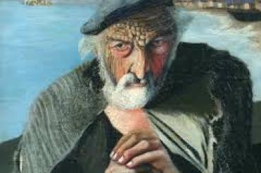 Csontváry Kosztka Tivadar Az öreg halász